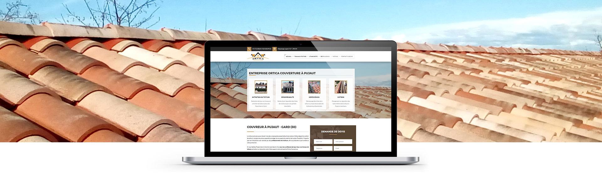 Site web pas cher Ortica Couverture