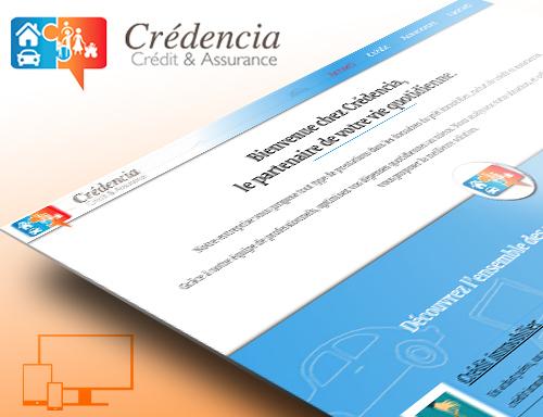 Création site vitrine de courtier en crédit et assurance