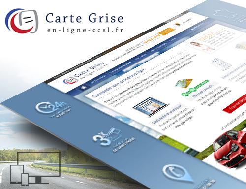 Création site de carte grise en ligne
